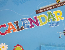 Girl Scouts of the USA Calendar